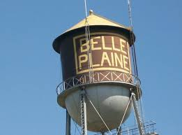 belle plaine water tower